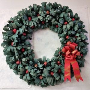 paper_christmas wreath
